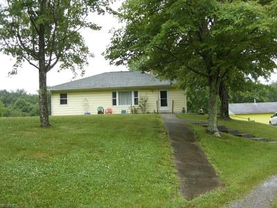 Guernsey County Single Family Home For Sale: 75146 Old Twenty One Rd