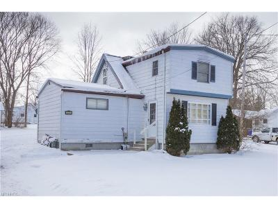 Aurora Single Family Home For Sale: 1061 Orchard Ave