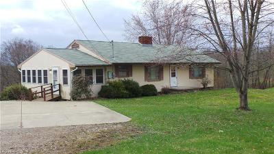 Guernsey County Single Family Home For Sale: 10340 Cadiz Rd