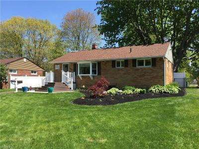 Geauga County Single Family Home For Sale: 307 Cynthia Dr