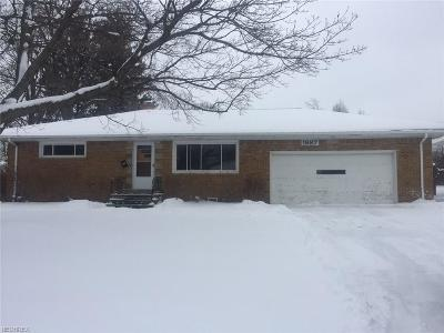 Wickliffe Single Family Home For Sale: 1887 Rush Rd