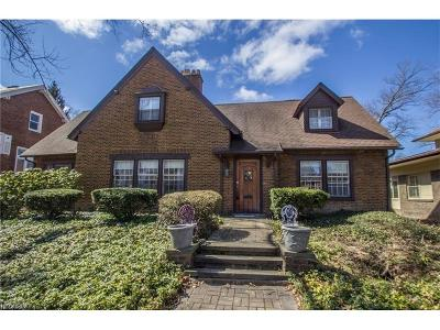 Cleveland Heights Single Family Home For Sale: 2258 Demington Dr