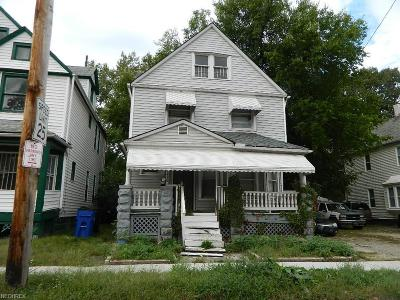 Cleveland Single Family Home For Sale: 1438 East 93rd St
