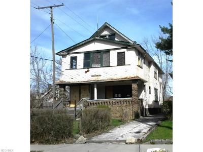 Cleveland Multi Family Home For Sale: 3175 East 119th St