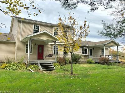 Ashtabula County Single Family Home For Sale: 3401 Bulah Rd