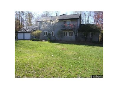 Chardon Single Family Home For Sale: 9954 High Country Dr