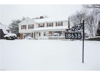 Shaker Heights Single Family Home For Sale: 18638 Parkland Dr