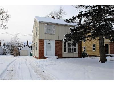 Maple Heights Single Family Home For Sale: 21000 Hillgrove Ave