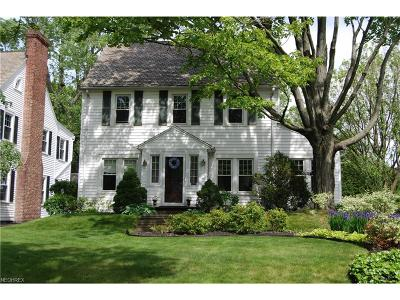 Shaker Heights Single Family Home For Sale: 3369 Avalon Rd