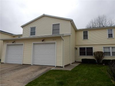 Lake County Condo/Townhouse For Sale: 8256 Lancaster Dr