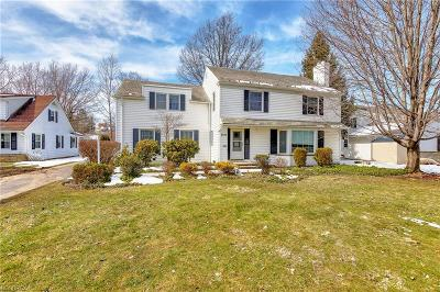 Shaker Heights Single Family Home For Sale: 2672 Green Rd