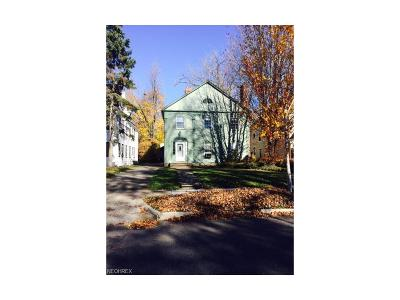 Shaker Heights Multi Family Home For Sale: 18509 Winslow Rd