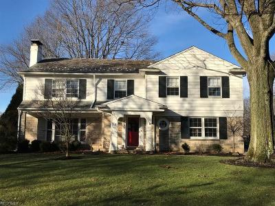Shaker Heights Single Family Home For Sale: 2686 Rocklyn Rd