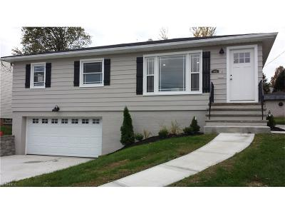 Parma Single Family Home For Sale: 4411 Bruening Dr