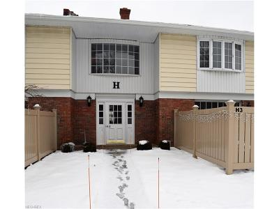 Lake County Condo/Townhouse For Sale: 7970 Mentor Ave #H07