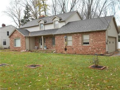 Mentor Single Family Home For Sale: 7290 Chillicothe Rd