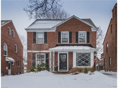 Shaker Heights Single Family Home For Sale: 3657 Gridley Rd