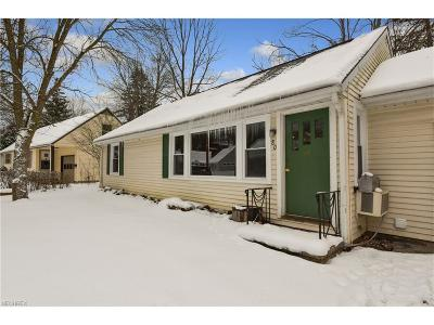 Chagrin Falls Single Family Home For Sale: 80 South St