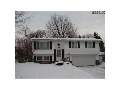 Parma Single Family Home For Sale: 5415 Amherst Dr