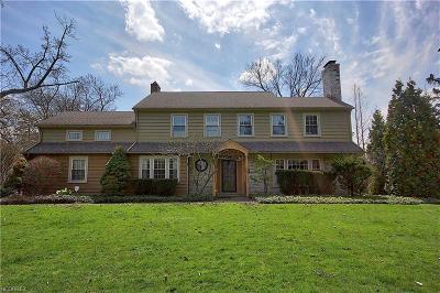 Shaker Heights Single Family Home For Sale: 16300 Shaker Blvd