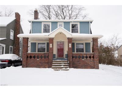 Cleveland Heights Single Family Home For Sale: 1128 Quilliams Rd