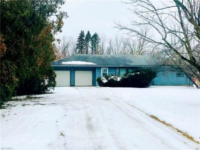 Medina Single Family Home For Sale: 4943 Fenn Rd