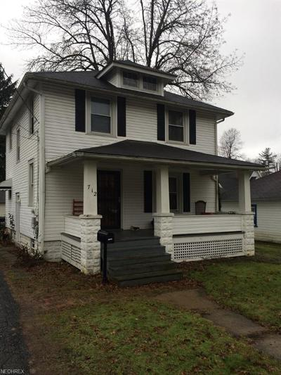 Ravenna Single Family Home For Sale: 712 Lafayette Ave