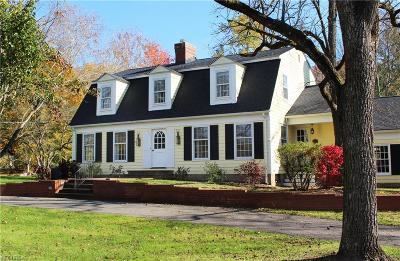 Gates Mills Single Family Home For Sale: 1063 Chagrin River Rd