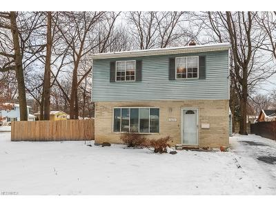 Mentor Single Family Home For Sale: 5610 Orchid Ave