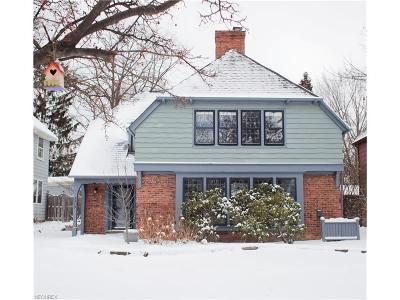 Shaker Heights Single Family Home For Sale: 3315 Grenway Rd