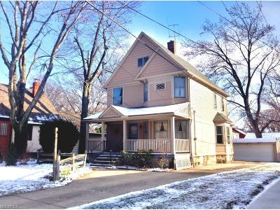 Cleveland Heights Single Family Home For Sale: 4012 Bluestone Rd