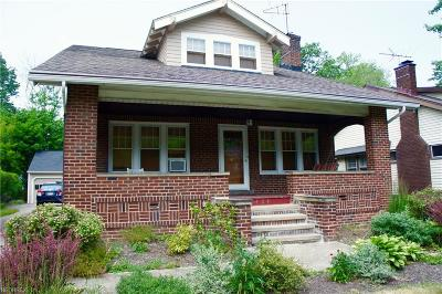 Cleveland Heights Single Family Home For Sale: 1404 Ardoon St