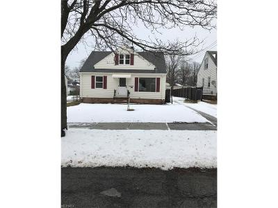 Maple Heights Single Family Home For Sale: 14909 James Ave