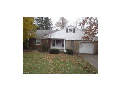 South Euclid Single Family Home For Sale: 1347 Dill Rd