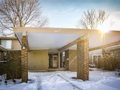 Olmsted Falls Condo/Townhouse For Sale: 26615 Central Park Blvd
