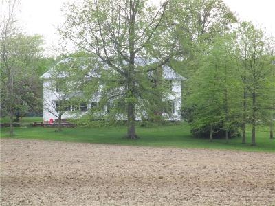 Ashtabula County Single Family Home For Sale: 7441 Gane Rd