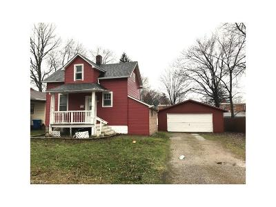 Painesville OH Single Family Home For Sale: $32,900