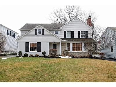 Shaker Heights Single Family Home For Sale: 22376 Westchester Rd