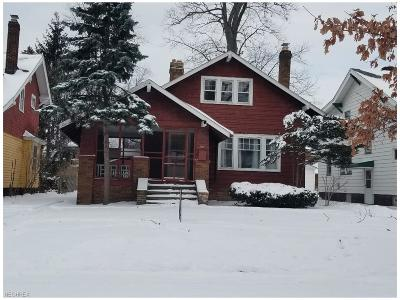 Cleveland Heights Single Family Home For Sale: 3011 East Derbyshire Rd