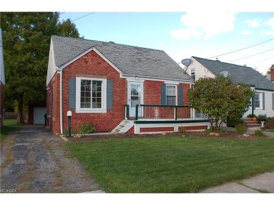 Elyria Single Family Home For Sale: 542 Cambridge Ave