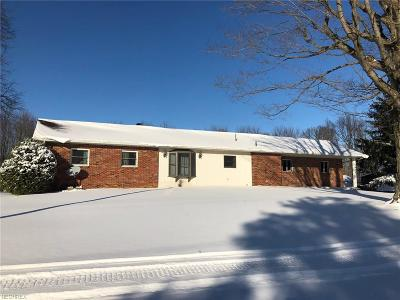 Vienna Single Family Home For Sale: 4885 Warren Sharon Rd