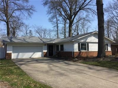 North Olmsted Single Family Home For Sale: 28702 Holly Dr