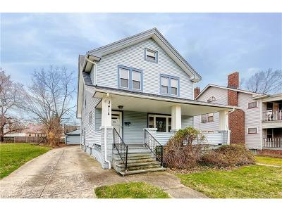 Cleveland Heights Single Family Home For Sale: 3414 Desota Ave