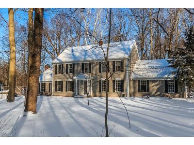 Geauga County Single Family Home For Sale: 10478 Wilson Mills Rd