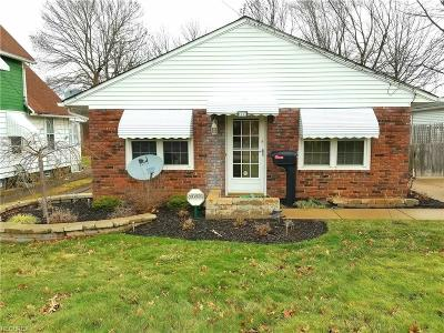 Wickliffe Single Family Home For Sale: 1527 East 290th St
