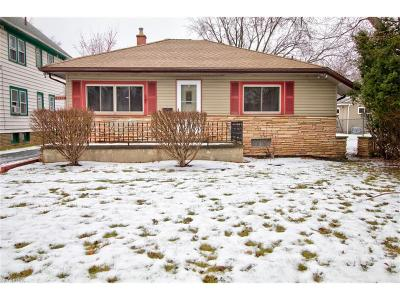 Rocky River Single Family Home For Sale: 18904 Mitchell Ave