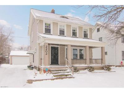 Bay Village, Rocky River, Fairview Park, Westlake, Lakewood Single Family Home For Sale: 2202 Mars Ave