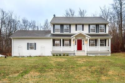 Geauga County Single Family Home For Sale: 12325 Country Oaks Trl