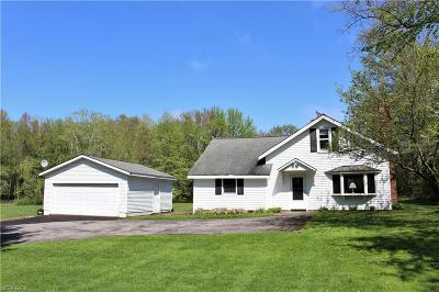 Chagrin Falls Single Family Home For Sale: 16471 Haskins Rd