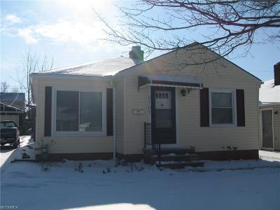 Parma Single Family Home For Sale: 5707 Haverhill Ave